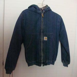 Boys Carhartt Blanket Lined Hooded Jacket/Coat